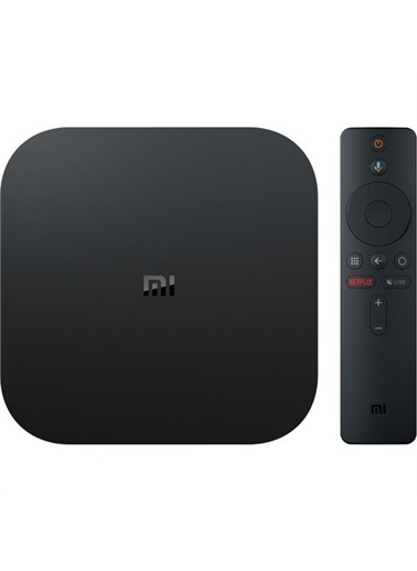 Xiaomi Xiaomi Mi Box S 4K Android TV Box Me,SYH Siyah